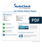 997 Turbo AutoCheck