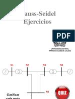 Gauss-Seidel - Ejercicios