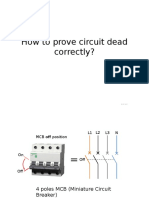 How to Prove Circuit Dead Correctly