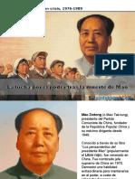 0098 HIST SXX China Despues de Mao