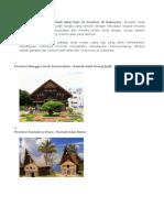 Gambar Dan Nama Rumah Adat Dari 33 Provinsi di Indonesia.docx