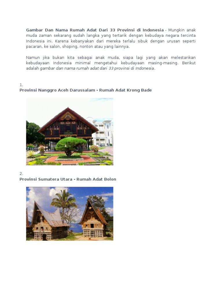 48+ Gambar Rumah Adat Baileo Asal Provinsi Dan Keunikannya Terbaru