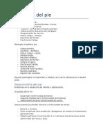 7. Patología Del Pie