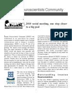 IRNSC Newsletter 2010