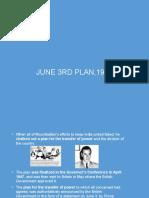 g3rd June Plan