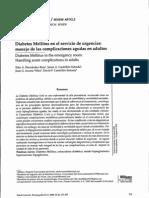 Cetoacidosis en Urgencias