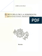Diaz Jose Luis - El Revuelo de La Serpiente - Quetzalcoatl Resucitado