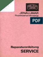 Zeiss Jenalumar - Reparaturanleitung