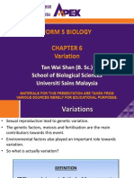 Form 5 Biology Chapter 6