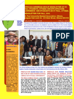 African-Carribean Group Newsletter of St. Paul Students for Fall,2016