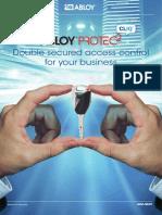 Brochure Abloy Protec2 Cliq