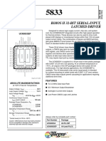Ucn5833 Bimos II 32-Bit Serial-Input,