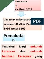 Peraturan-Peraturan Pendidikan Khas 2013.pptx