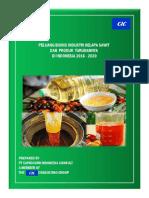 Peluang Bisnis Industri Kalapa Sawit Dan Produk Turunannya 2016 - 2020