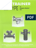 Strainer - Type 'Y' Simplex Basket Tee (Micon Valves)