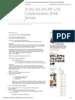 Telecom 2g,3g,4g,Rf Lte Drive Test,Optimization,Ipv6 Study Materials_ Lte Drive Test Parameters