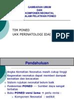 Gambaran Umum Dan Komponen Neonatal Dalam PONED