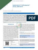 Chikungunya Bibliometric Analysis