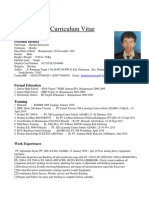 Cv & Apply Letter Hendra.s