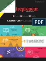 Entrepreneur Brochure 2016
