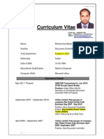 Resume Doc Cntrlr