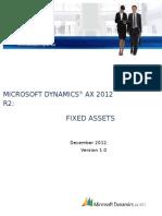 Finance Demo Script Fixed Assets