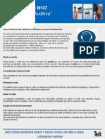 Charla Integral Nº47 La Protección Auditiva