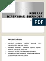 Hipertensi Sekunder