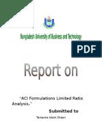 ACI Formulations Limited