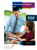 Code of Professional Conduct for Teachers
