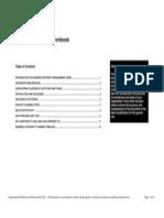 Organisation Resilience Workbook