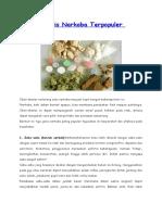 3 Jenis Narkoba Terpopuler