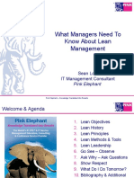 101 - What IT Managers Need To Know About Lean Management - Sean Low.ppt