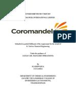 Internship Projct Report