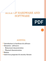 role of hardware and software