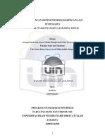 Pengembangan Sistem Informasi Kepegawaia