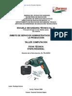 Análisis Objeto Técnico El Taladro