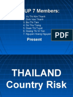 Thailand Country Risk-Combined