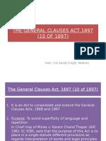 Gen Cl Act 1897