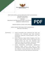 PKBPOM Nomor 5 Tentang Penarikan Dan Pemusnahan OT Yang Tidak Memenuhi Persyaratan (1)