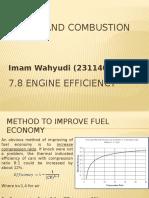 7.8 Engine Efficiency