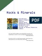 rocks   minerals notes kean university