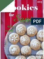 The Baking Beauties Cookies for Santa e Book