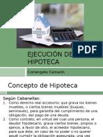 Ejecución de La Hipoteca