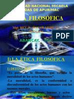 Etica Filosofica. 2015 i