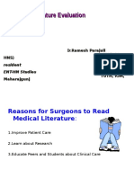 critical analysis of medical Literature.ppt
