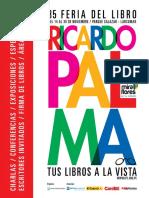 Catalogo 35a Feria Del Libro Ricardo Palma 2014