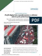 Perfil Digital Dos Manifestantes_ o Abismo Aberto Pela Polarização _ Opinião _ EL PAÍS Brasil