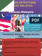 Peranan Patriotisme Rakyat Malaysia