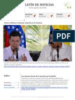 Boletín de noticias KLR 11AGO2016